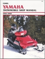 Yamaha Snowmobile Repair Manual 1984-1989