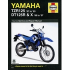 Yamaha TZR125, DT125R/X Repair Manual 1987-2007