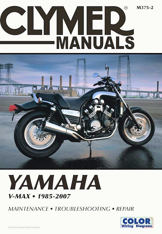 Yamaha v max repair and service manual 1985 2007 clymer for Yamaha vmax outboard review
