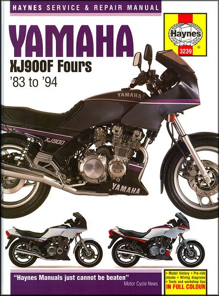 yamaha xj900f fours repair manual 1983 1994 haynes 3239 rh themotorbookstore com service manual yamaha xj900 diversion Yamaha XJ 900