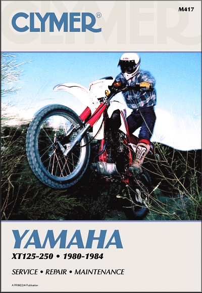 Yamaha Xt125 Xt250 Repair Manual 19801984 Clymer M417. Yamaha Xt125 Xt250 Repair Manual 19801984. Yamaha. 1983 Yamaha Xt125 Wiring Diagram At Scoala.co