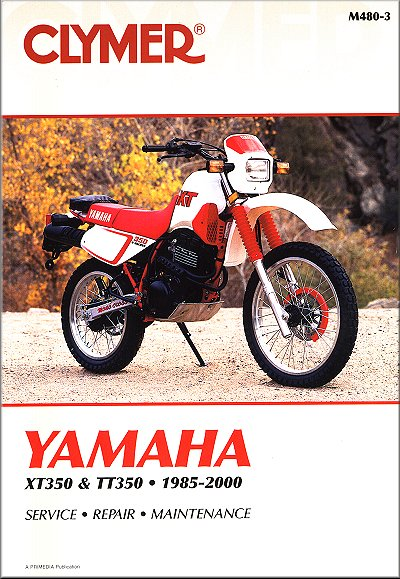 yamaha xt350 tt350 repair manual 1985 2000 25 yamaha xt350, tt350 repair manual 1985 2000 clymer m480 3 2017 Yamaha XT350 at soozxer.org