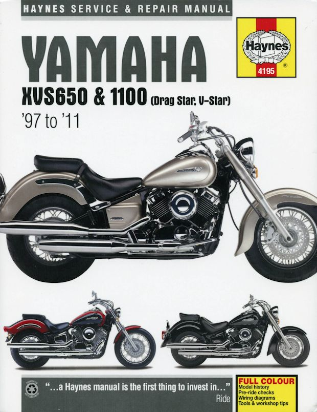 yamaha xvs650 xvs1100 drag star v star repair manual 1997 2011 30 yamaha xvs 650, 1100, drag star, v star repair manual 1997 2011 yamaha v star 650 wiring diagram at aneh.co