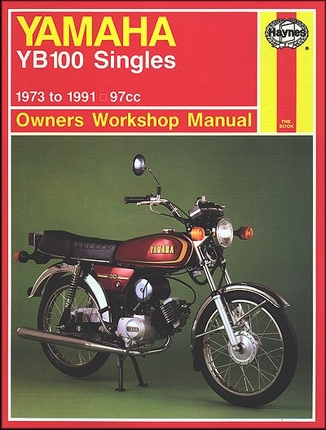 Yamaha YB100 Singles Repair Manual 1973-1991