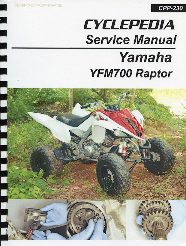 Yamaha Yfm Raptor Service Manual