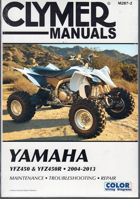 Yamaha yfz 450 owners manual complete wiring diagrams yamaha yfz450 yfz450r atv repair manual 2004 2013 clymer m287 2 rh themotorbookstore com 2006 yamaha asfbconference2016 Images