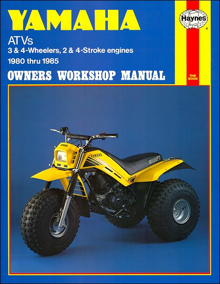 yamaha yt60 125 175 ytm200 225 ytz250 repair manual 1980 1985 rh themotorbookstore com