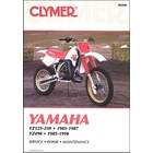 Yamaha YZ125, YZ250 1985-1987, YZ490 1985-1990 Repair Manual
