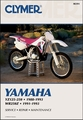 Yamaha YZ125, YZ250 1988-1993, WR250 1991-1993 Repair Manual