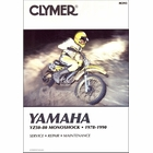 Yamaha YZ50, YZ60, YZ80 Monoshock Repair Manual 1978-1990