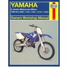 Yamaha YZ80, YZ80LW, YZ85, YZ85LW, YZ125, YZ250 Repair Manual 1986-2006