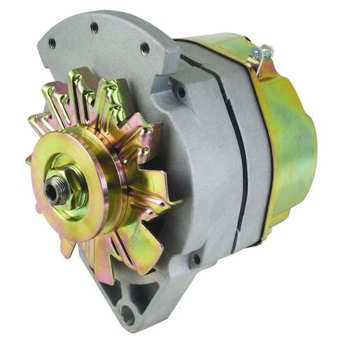 "100 Amp 1 Wire Delco Style Replacement Alternator with 1"" Spool Mount Ear"