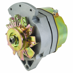 """100 Amp 1 Wire Delco Style Replacement Alternator with 1"""" Spool Mount Ear"""