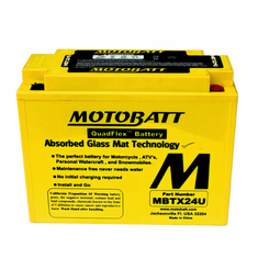 12N183, 12N183A, Y50N18AA Motobatt Replacement Battery