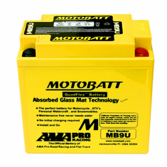 12N73A, 12N73B, 12N7D3B, 12N74A Motobatt Replacement Battery