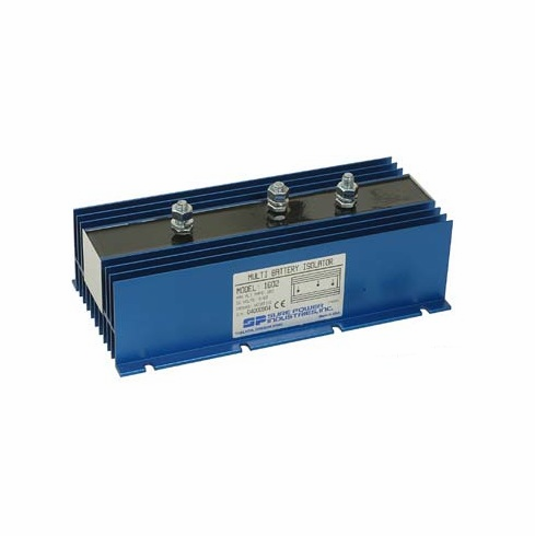2 Batt - 1 Alt 165 Amp Max Battery Isolator