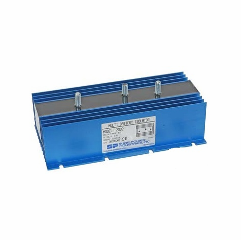 2 Batt - 1 Alt 200 Amp Max Battery Isolator
