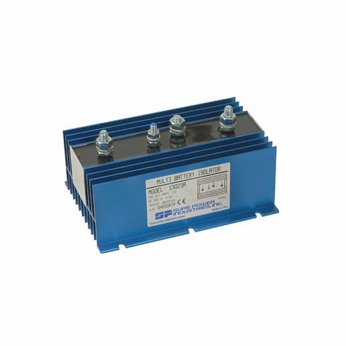 3 Batt - 1 Alt 130 Amp Max Battery Isolator