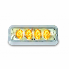 "4"" AMBER HIGH POWER STROBE LIGHT"