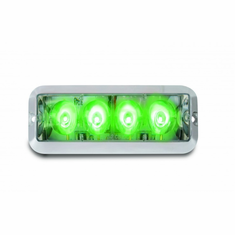 "4"" GREEN HIGH POWER STROBE LIGHT"