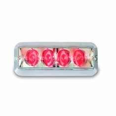 "4"" RED HIGH POWER STROBE LIGHT"