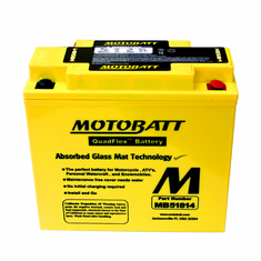 51814, 51913 Motobatt Replacement Battery