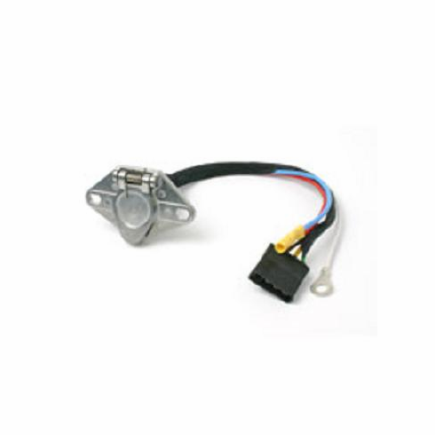 6-ROUND CONNECTOR KIT, PREWIRED FOR 4-FLAT