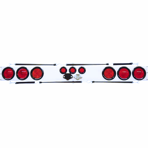 """60"""" INCANDESCENT TOW LIGHT BAR WITH FLASHERS"""