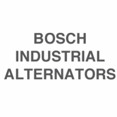 Bosch Industrial Alternators
