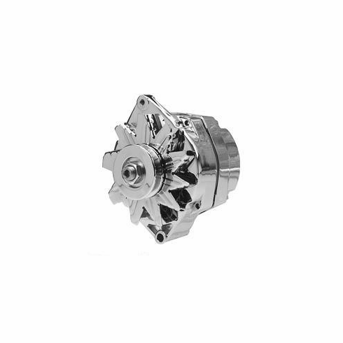 Chrome 100 Amp 10SI 1 Wire Alternator