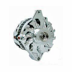 Chrome 65-93 GM 105 Amp 1 Wire Alternator