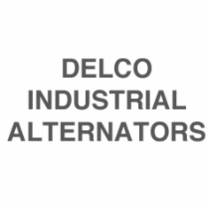 Delco Industrial Alternators