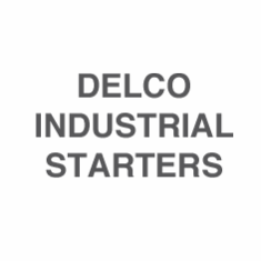 Delco Industrial Starters