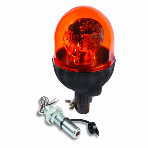 DIN POLE MOUNT AMBER ROTATOR
