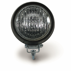 "HALOGEN 55-WATT 4"" FLOOD LAMP WITH RUBBER HOUSING"