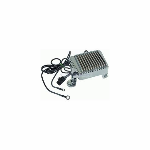 Harley-Davidson Replacement 74505-97 Chrome Regulator-Rectifier