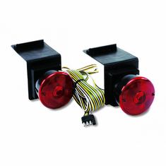 INCANDESCENT FLAP MOUNT TOWING LIGHTS