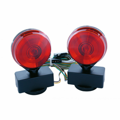 INCANDESCENT MAGNETIC TOW LIGHTS IN CLAMSHELL