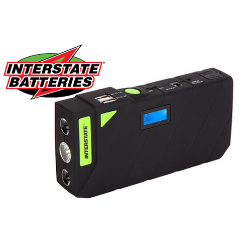Interstate Portable Power Supply & Jump Starter Charge & Go PWR7004