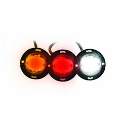 LED 1 HIDEAWAY STROBE LIGHTS