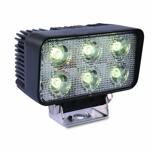 LED 18-WATT RECTANGULAR FLOOD WORK LIGHT