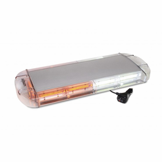 "LED 21"" AMBER/WHITE ROOFTOP MAGNETIC STROBE LIGHT"