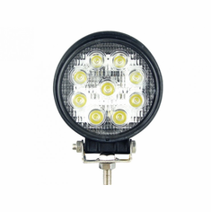 LED 27-WATT ROUND WORK LIGHT