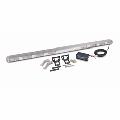 "LED 56"" MULTI-FUNCTION ROOFTOP AMBER LIGHT BAR WITH CLEAR LENS"