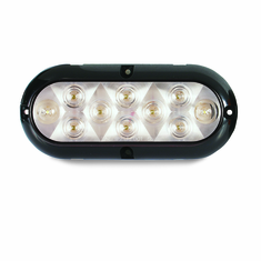 "LED 6.5"" CLEAR OVAL UTILITY LIGHT"