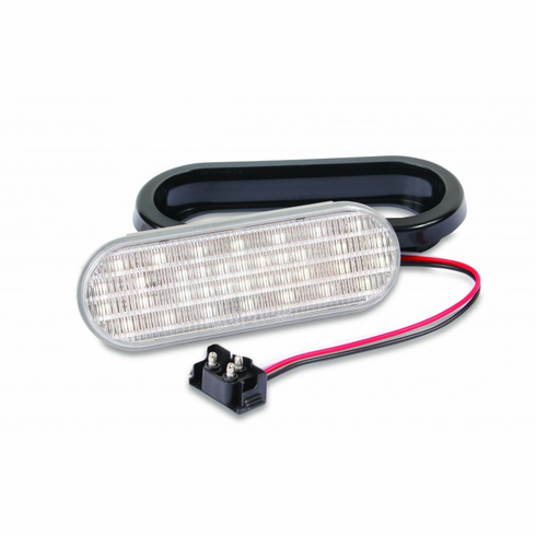 "LED 6.5"" SEALED OVAL WHITE BACK-UP LIGHT"