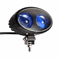 LED 8-WATT BLUE FORK LIFT SPOTLIGHT