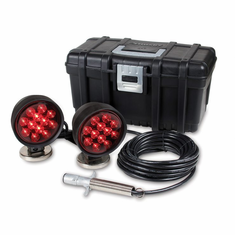 LED HEAVY DUTY MAGNETIC TOWING LIGHTS WITH CARRYING CASE