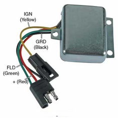 Motorola / Prestolite Replacement 8RH2004A Adjustable Voltage Regulator