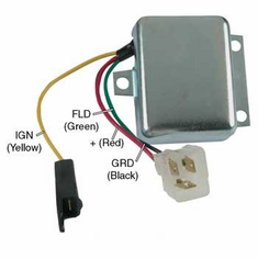 Motorola / Prestolite Replacement 8RH2004B Voltage Regulator